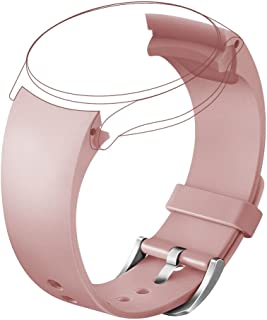 V-Moro Accessories Silicone Bands for Samsung Galaxy Gear S2 Classic Smart Watch SM-R732 and SM-R735 Pink Large Small 5.1-8.1 inches