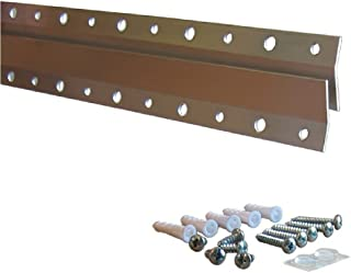 French Cleat Hanger 18 Inch - Picture, Mirror, Whiteboard or Headboard Wall Mounting Brackets - Z Bar Hanger Supports 90lbs