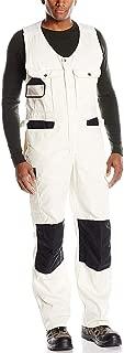 XinAndy Men's Sleeveless Overalls Painter's Workwear