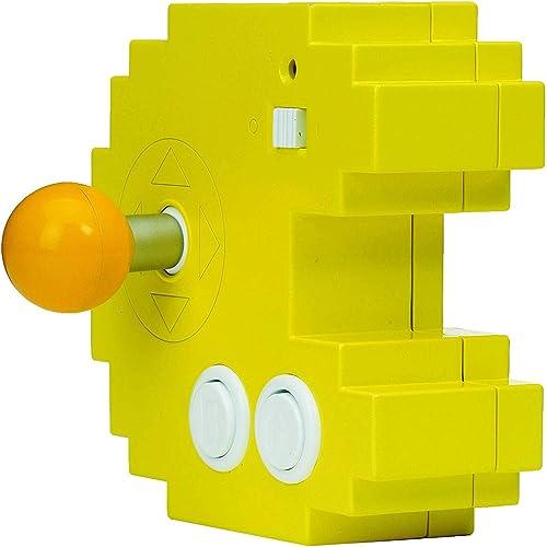 Bandai - Pac-Man - Console jaune connect & play (12 jeux d'arcade rétro intégrés) - 38886