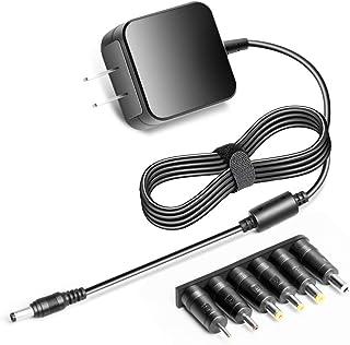 KFD Adaptador de CA univesal de 6 V para monitor de bebé seguro y sonido, Fisher Price, columpio de cuna, paseo en coche, E-flite Celectra,iTouchless Papelera para niños, ruedas de alimentación de niños, monitor de presión arterial, sensor de movimiento IR