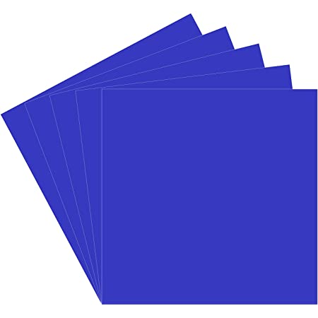 12 x 5ft, Brilliant Blue ORACAL 651 Multi-Colored Vinyl Solvent-Based Adhesive-Backed Calendared Wrap Decals w//Yellow Multi-Purpose Squeegee