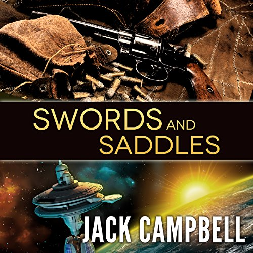 Swords and Saddles audiobook cover art