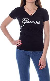 Amazon itGuess Bluse ShirtTop DonnaAbbigliamento E Nero T 5LR3qj4A