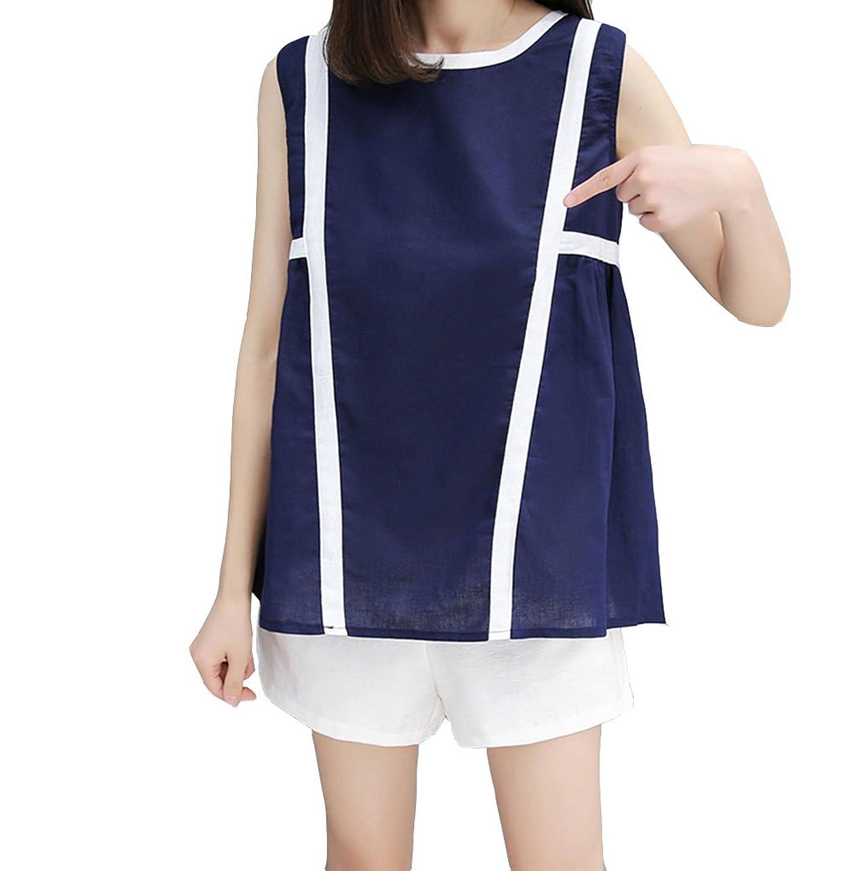 [美しいです] 女性 スーツ Tシャツ ワイドパンツ 半ズボン 春 夏  流行る 無地