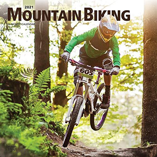 Mountain Biking - Mountainbiken 2021 - 18-Monatskalender: Original BrownTrout-Kalender [Mehrsprachig] [Kalender]