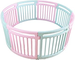 Round Children s Fence Game Fence Baby Crawling Baby Toddler Safety Fence Indoor Toy Door 1 76m   Size 150x66 5cm 59x26in