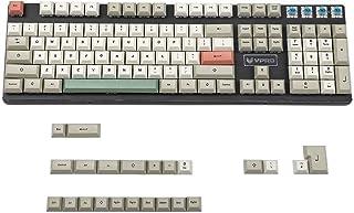 YMDK 125 DSA Dye Sub 9009 Retro PBT Full Keyset for MX Mechanical Keyboard Filco Ducky 104 TKL 61 KBD75 Kira96 YMD96 XD64 Tada68 (125 Set)