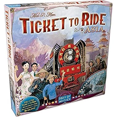 Days of Wonder Ticket To Ride: Map Collection Volume 1 - Asia
