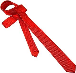 uxcell Men Jacquard Plaids Woven Business Stiched Necktie