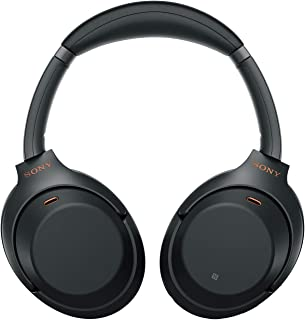 Sony WH-1000XM3 Wireless Industry Leading Noise Cancelling Headphones (Wireless Bluetooth Over The Ear Headphones with Mic,30 Hours Battery Life and Alexa Voice Control) – Black
