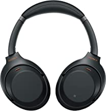 Sony WH 1000XM3 Industry Leading Wireless Noise Cancelling Headphones Bluetooth Headset with Mic for Phone Calls 30 Hours Battery Life Quick Charge Touch Control Alexa Voice Control Black