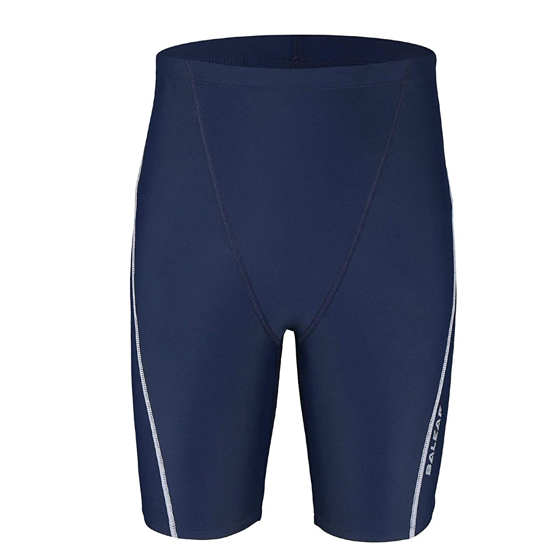 Baleaf Boys' Athletic Swim Jammer UPF 50+ Quick Dry Youth Training Swimming Short