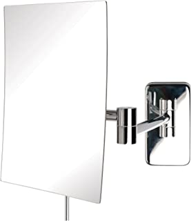Jerdon JRT695C 5X Wall Mount Mirror, Chrome