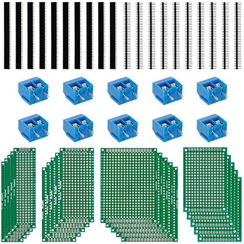 20 Stück Universal Lochrasterplatte 5* 7cm Leiterplatte Platine PCB Board