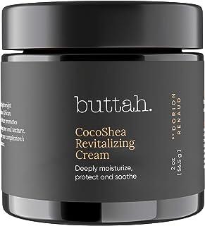 Sponsored Ad - Buttah Skin CocoShea Revitalizing Cream 2oz - Natural & Organic African Shea & Cocoa Butter - Best Face Moi...