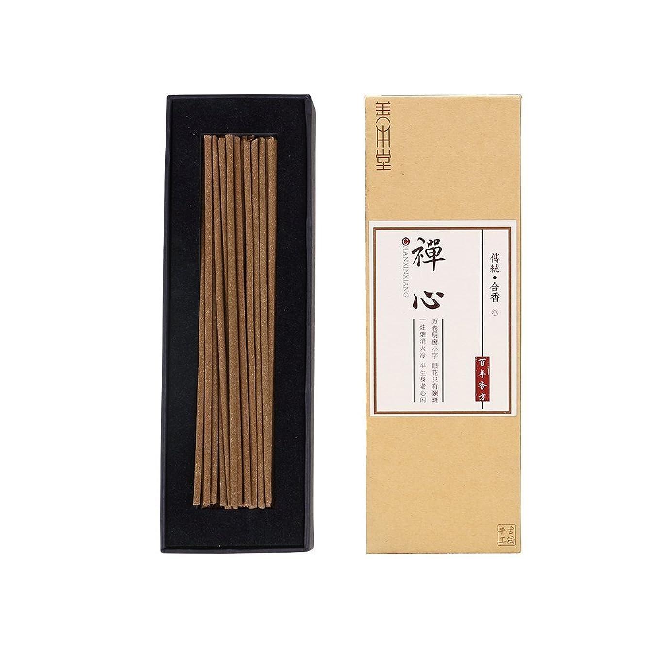 人種病院ファッションShanBenTang お香スティック 純粋な天然の手作りお香 甘い香りのオスマンサスの香り プレミアム品質 Zen Incense ブラウン