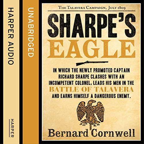 Couverture de Sharpe's Eagle: The Talavera Campaign, July 1809