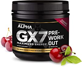 Alpha Gx7 Pre Workout -30 Servings Cherry Flavor