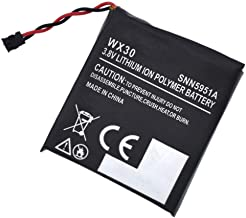 Civhomy Replacement 3.8V SNN5950A Battery for Motorola Moto 360 1 Gen 00418NARTL 00420NARTL 00573NARTL 00583NARTL,Motorola Moto 360 1st-Gen 2014 Smart Watch