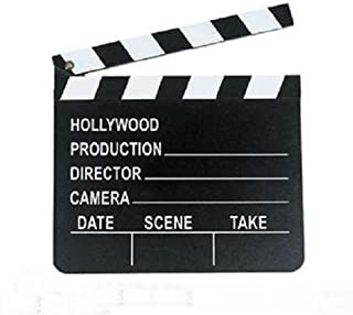 Unbranded All New Hollywood Movie Themed Party Decor Prop Wooden Director`s Clapboard