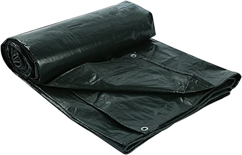 WSGZH Toile Noire Anti-Pluie Toile De Prougeection Solaire Toile De Tricycle Imperméable Auvent Bache en Toile Imperméable, épaisseur 0,25 Mm, 180 G   M2, 14 Options De Taille