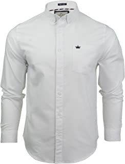 Mens Brave Soul Short Sleeve Shirt 100/% Cotton SS19 NEW Sizes S to XL