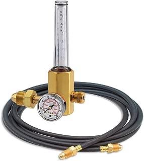 Miller Smith H2051B-580H Single Stage Flowmeter Regulator 50 PSI With