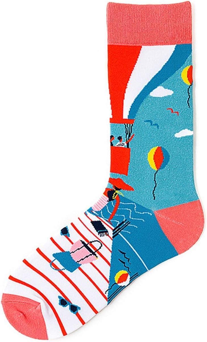 CHENGCHAO Sock 1 Ranking TOP18 Pair Men Socks Ba Cotton Cartoon Hot Finally resale start Air Combed