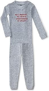 Am I Rockin' My Extra Chromosome Or What? Cotton Sleepwear Pajama 2 Pcs Set