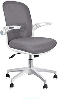 HMBB Home Office Chair,Ergonomic Desk Chair,Mesh Computer Chair,with Waist Support Armrest,Administrative Rolling Adjustable Middle Back
