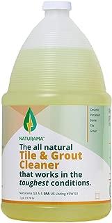 Tile Grout Cleaner - Rejuvenate Kitchen Floor, Bathroom Floors, Tiles - Heavy Duty Mold and Grime Remover (1 GALLON)