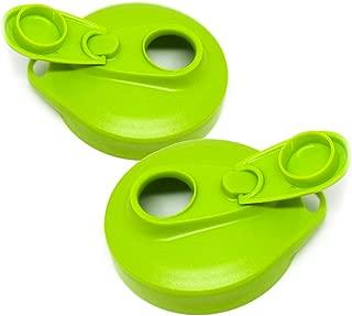 Masontops Multi Top - 2 Pack - Regular Mouth Mason Jar Lids with Easy Pour Spout and Flip Cap – Sip, Pour, Store & More - Lid Accessories For Mason Jars