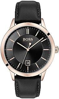 Hugo Boss Reloj Analógico para Hombre de Cuarzo con Correa en Cuero 1513686