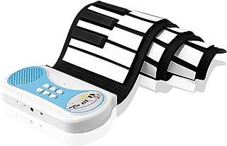 DigitalLife Piano Portátil Enrollable de 37 Teclas Teclado Enrollable de Silicona con Altavoz y Función de Grabación - Elección de Regalo