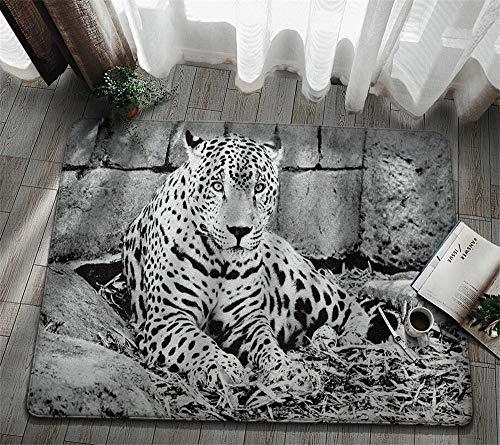 marialydia Felpudo Antideslizante,Tigre,Disponible En Varios Tamaños|