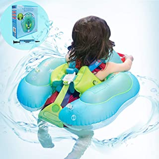 Anti-Slip Baby Pool Floats for Toddler Floaties Baby Swimming Pool Ring Accessories for The Age of 3 Months-5 Years (L, B1027)