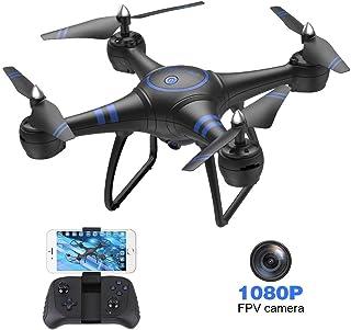 AKASO A31 Drone con Cámara 1080P HD Avión con WiFi FPV LED