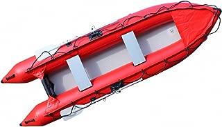 Saturn 12 ft Kaboat SK396 Inflatable Kayak / Motor Boat Crossover - Red