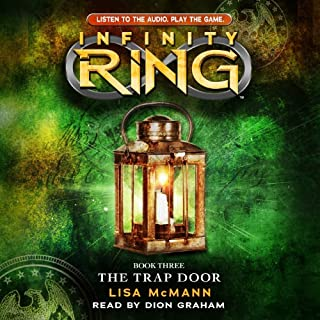 Infinity Ring, Book 3: The Trap Door                   By:                                                                                                                                 Lisa McMann                               Narrated by:                                                                                                                                 Dion Graham                      Length: 4 hrs and 22 mins     97 ratings     Overall 4.5
