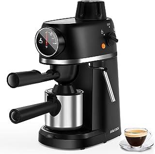 دستگاه اسپرسو SOWTECH ، دستگاه کاپوچینو با بخار شیر بخار ، قهوه ساز 3.5 بار Latte
