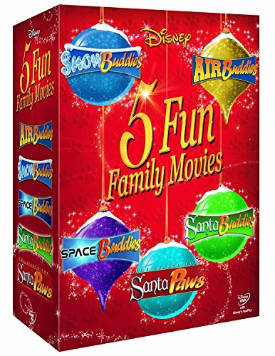 Disney Buddies Collection (Air, Snow, Space, Santa and Santa Paws) [DVD]