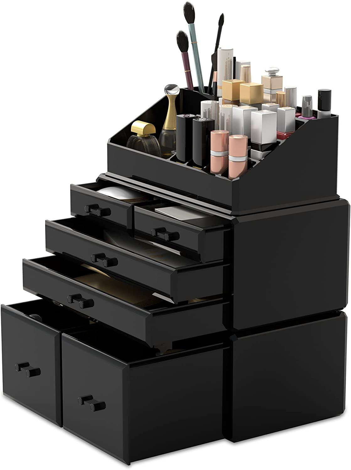 Readaeer Portland Mall Makeup Organizer 3 Pieces Cosmetic with Case 6 Max 83% OFF Storage
