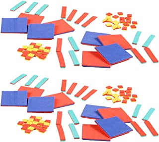 hand2mind Foam Algebra Tiles Bulk Classroom Kit with Storage Tote (Pack of 30)