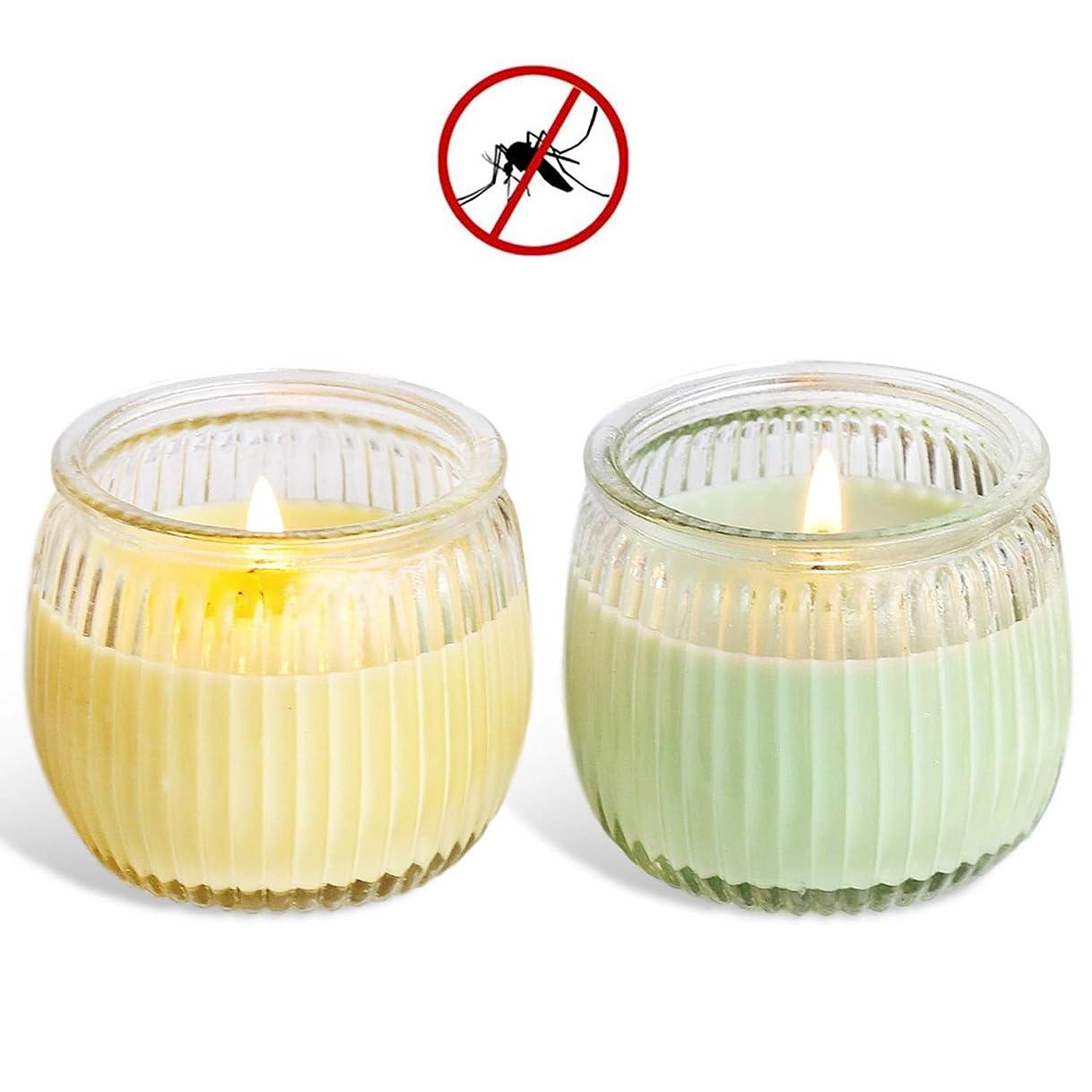 雑草警報アピール処置 スイカガラスカップの野菜大豆ワックスアロマキャンドルグリーンキャンドル