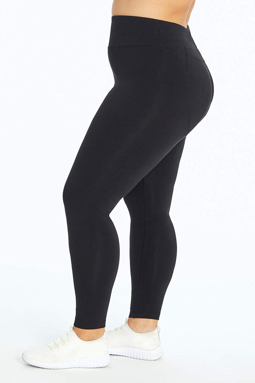 Marika Womens Plus Size Butt Booster Capri Legging