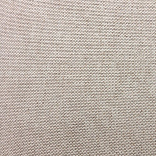 Kt KILOtela Tela de loneta Lisa - Half Panamá 100% algodón - Retal de 100 cm Largo x 280 cm Ancho | Beige ― 1 Metro