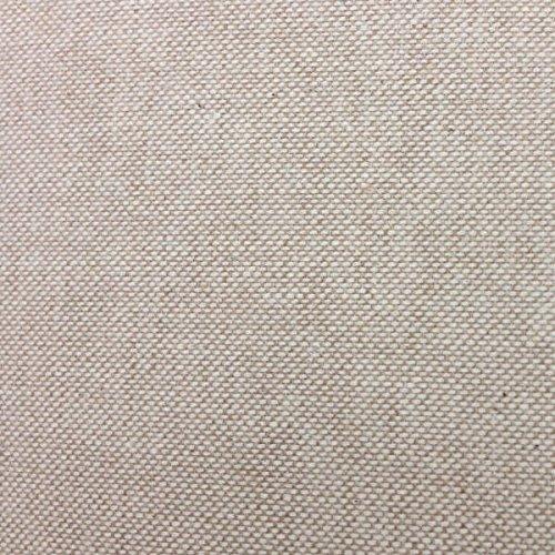 Tela por metros de loneta lisa - Half Panamá 100% algodón - Ancho 280 cm - Largo a elección de 50 en 50 cm | Beige