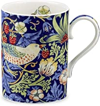 Portmeirion Royal Worcester Strawberry Thief - Indigo Mineral Gift Boxed Mug by