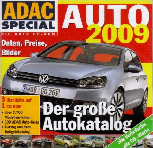 Auto 2009, 1 CD-ROMDer große Autokatalog. Daten, Preise, Bilder. Über 7.700 Modellvarianten. 330 ADAC Auto-Tests. Auszug aus dem Bußgeldkatalog. Alle Verbräuche, alle CO2-Werte. Für Windows 98/ME/2000/XP/Vista